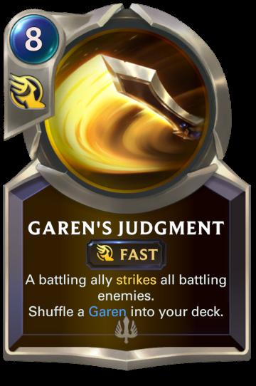 Garen's Judgment