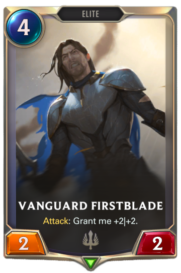 Vanguard Firstblade