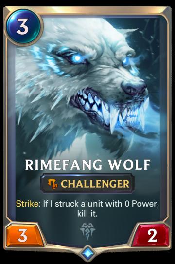 Rimefang Wolf