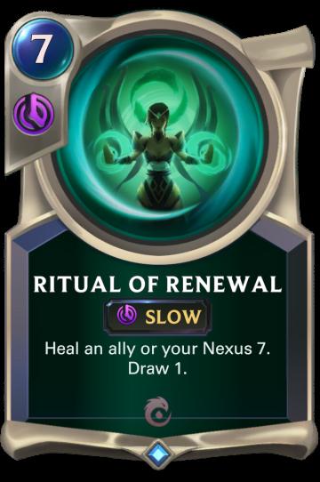 Ritual of Renewal
