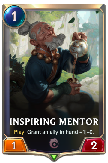 Inspiring Mentor