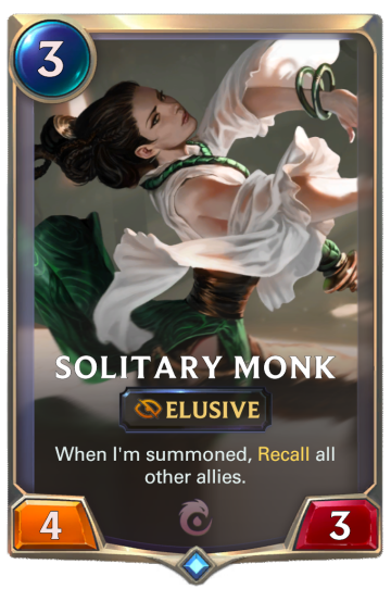 Solitary Monk