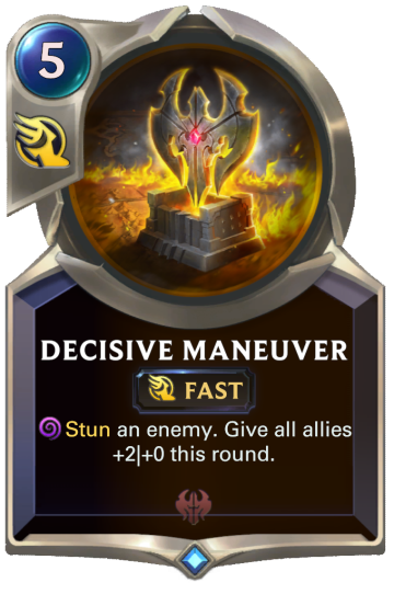 Decisive Maneuver