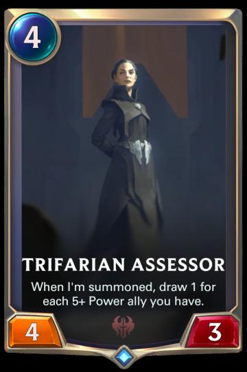 Trifarian Assessor