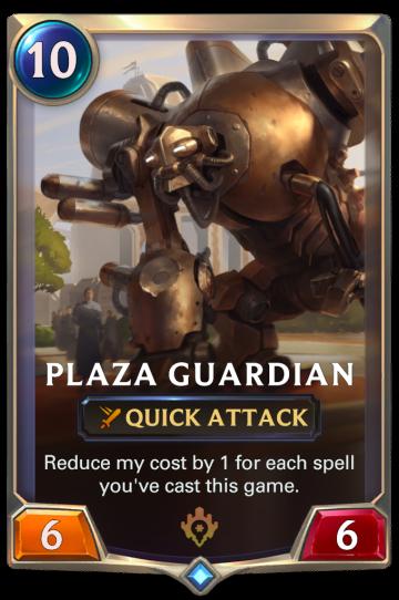 Plaza Guardian