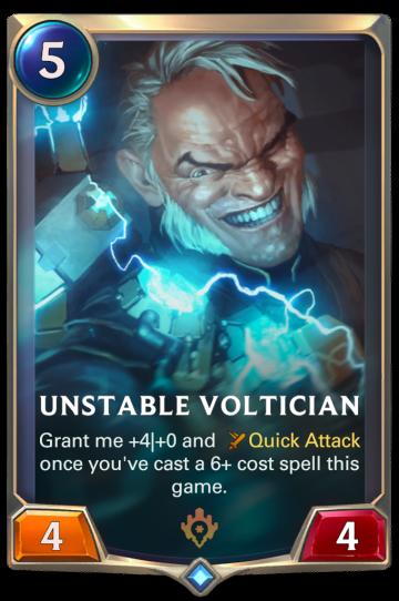 Unstable Voltician