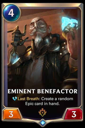 Eminent Benefactor