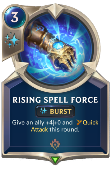 Rising Spell Force