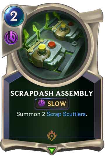 Scrapdash Assembly