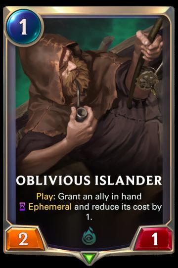 Oblivious Islander