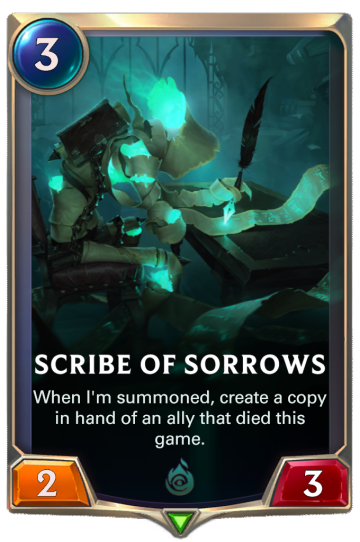 Scribe of Sorrows