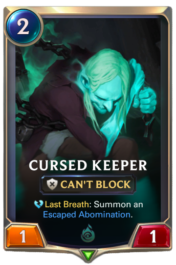 Cursed Keeper