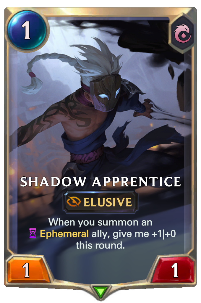 LoR Card: Shadow Apprentice