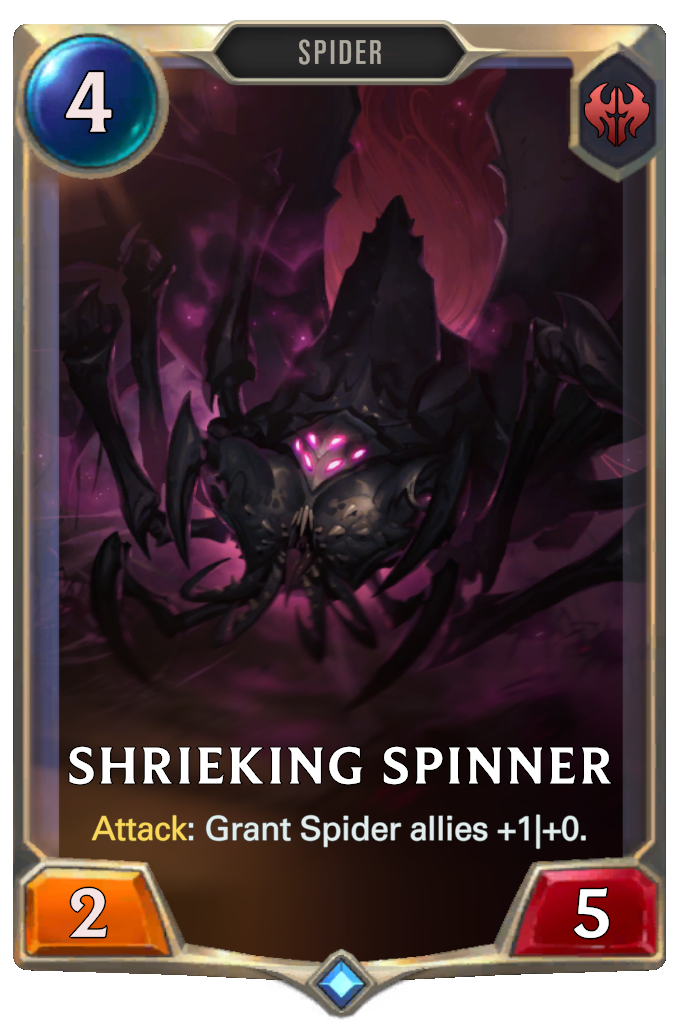 LoR Card: Shrieking Spinner