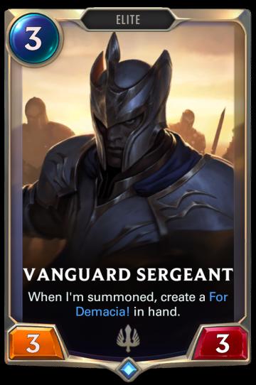 Vanguard Sergeant
