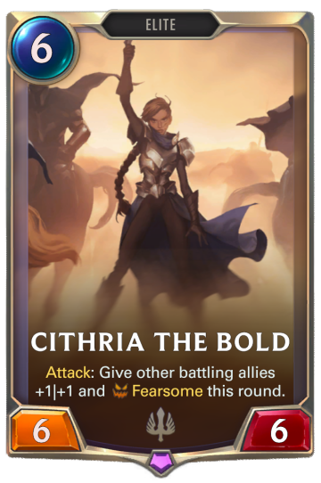 Cithria the Bold