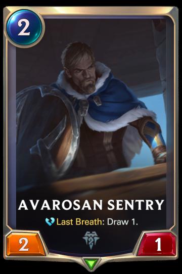 Avarosan Sentry