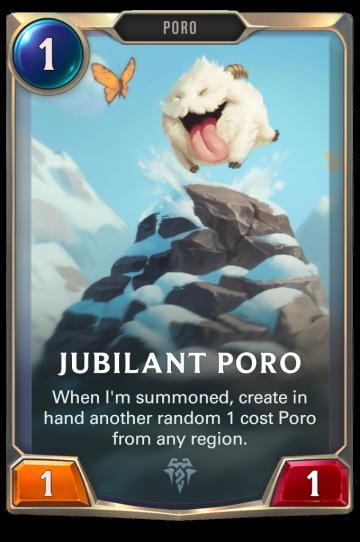 Jubilant Poro