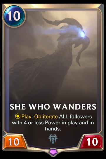 She Who Wanders
