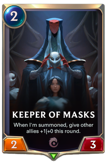 Keeper of Masks