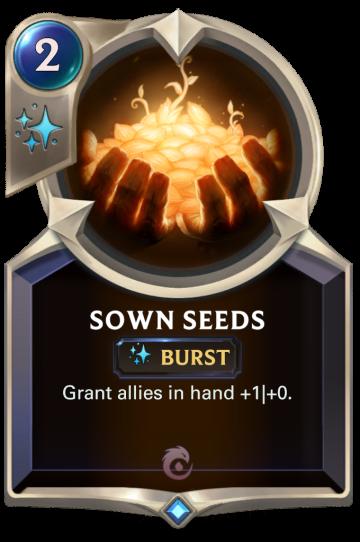 Sown Seeds