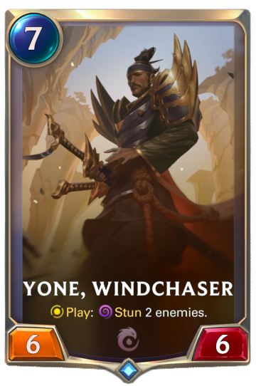 Yone, Windchaser
