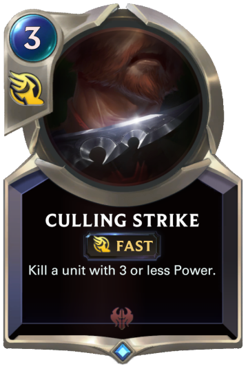 Culling Strike