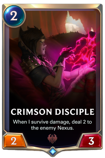 Crimson Disciple