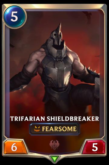 Trifarian Shieldbreaker