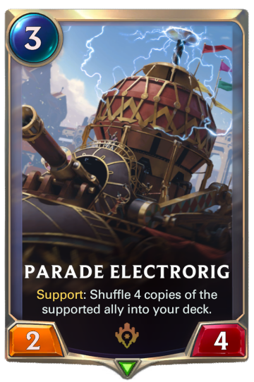 Parade Electrorig