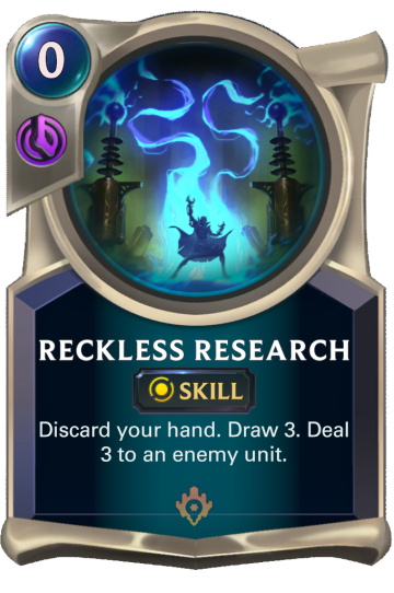 Reckless Research