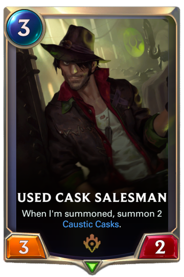 Used Cask Salesman
