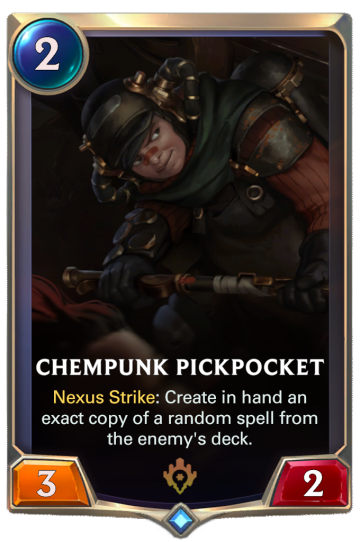 Chempunk Pickpocket