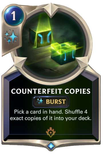 Counterfeit Copies
