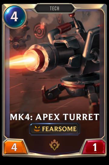Mk4: Apex Turret