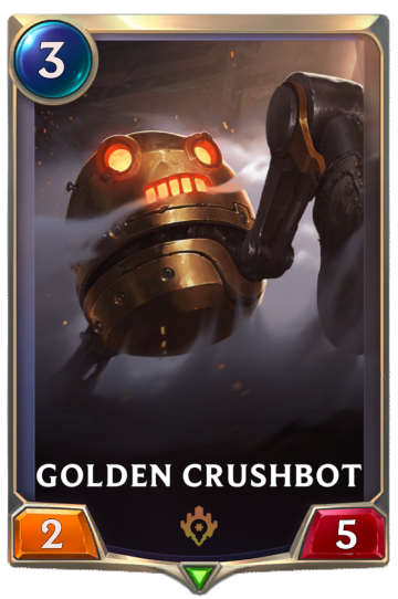 Golden Crushbot