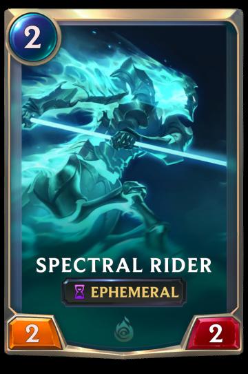 Spectral Rider
