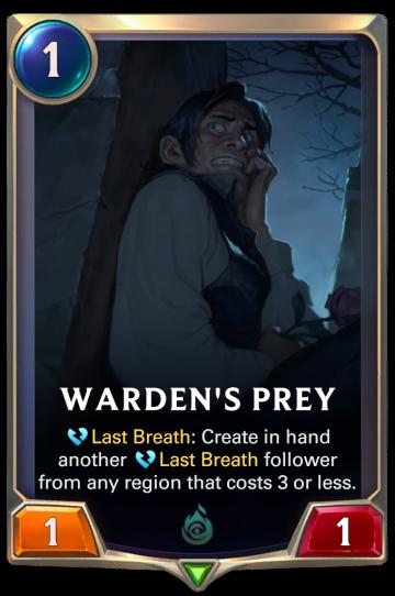 Warden's Prey