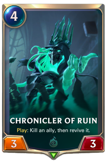 Chronicler of Ruin