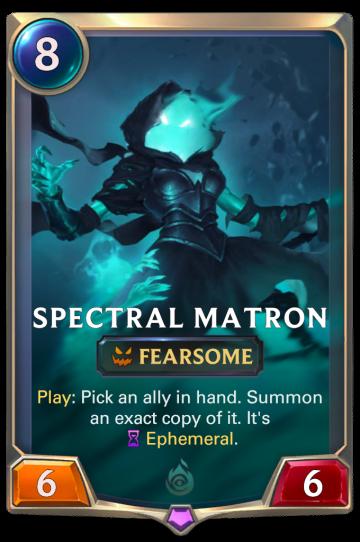 Spectral Matron